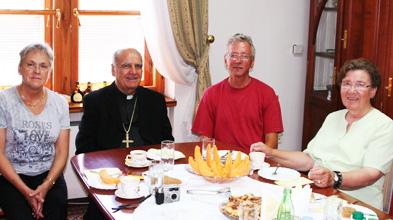 Besuch bei Bischof Ratko Peric von Mostar