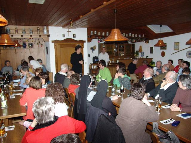 4. Generalversammlung Februar 2007 - WERKE statt WORTE